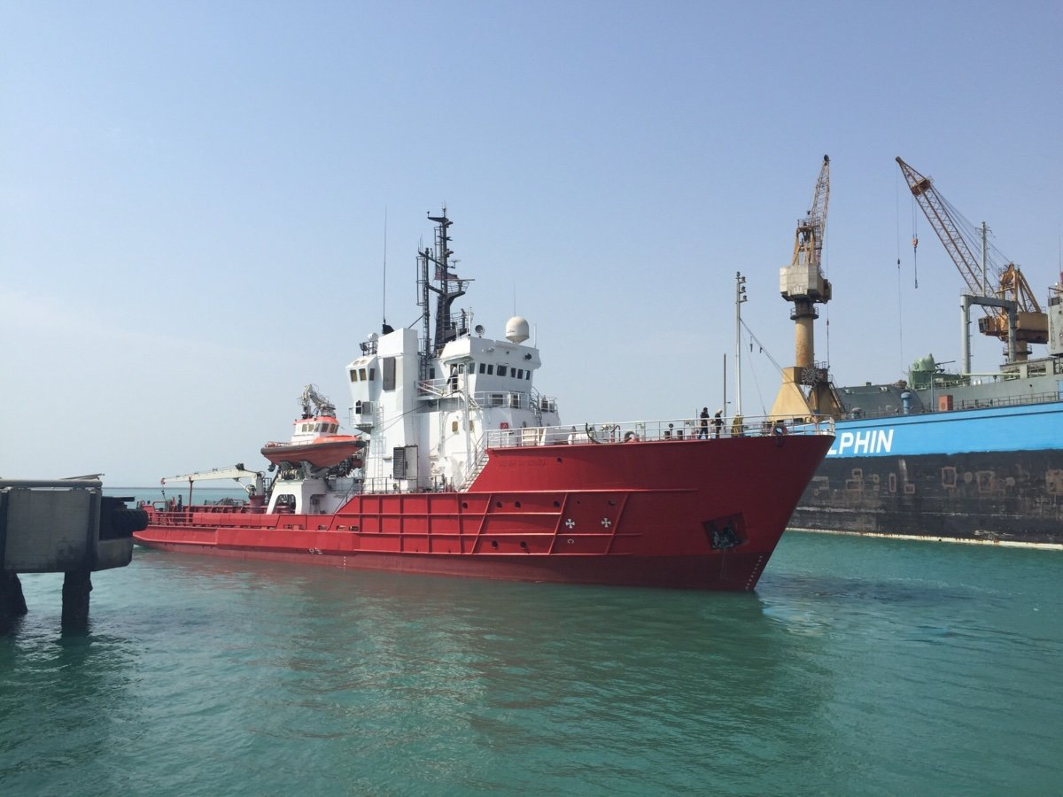 Custom 58m Supply Vessel