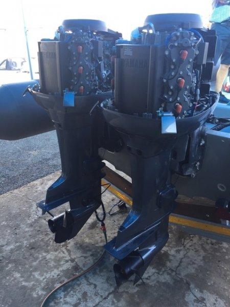 Custom 8.5m Military Spec Semi Rigid Vessel