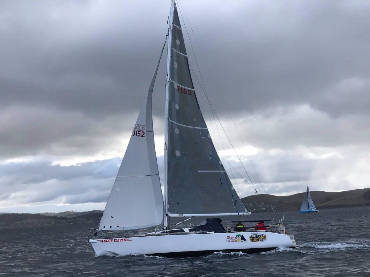 Adams 11.9 SUCCESSFUL DOUBLE HANDED YACHT READY TO RACE