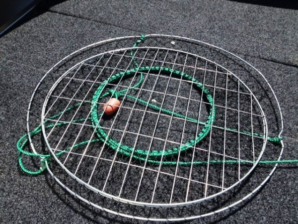 EXTRA LARGE CRAB NETS WITH MESH BOTTOM - $ 15.00 EA.