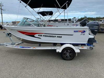 Quintrex 450 Fishabout Pro 2020 Yamaha T60LB High Thrust