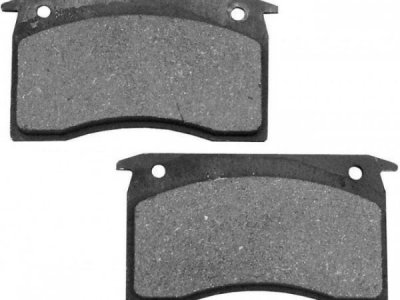 DUNBIER MECHANICAL BRAKE PAD SET OF 4 = ONLY $ 65.00
