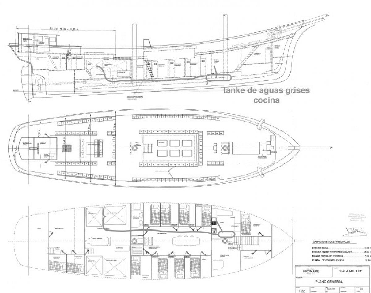 42 Metre Sailing Ship