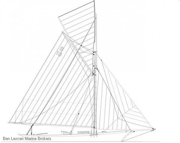 Custom 1898 CLASSIC GAFF CUTTER