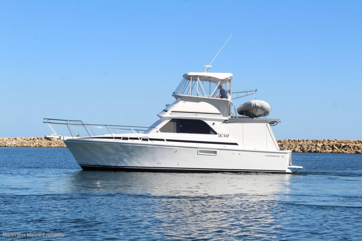 Caribbean 35 Flybridge Cruiser SOLD SOLD SOLD
