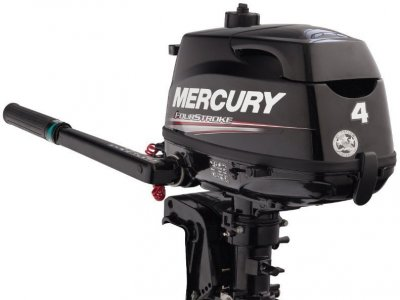 NEW 4HP MERCURY 4ST OUTBOARD