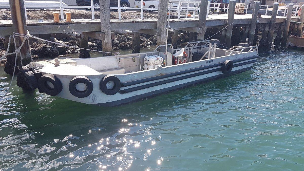 Custom Alloy Heavy Duty Workboat for Hire