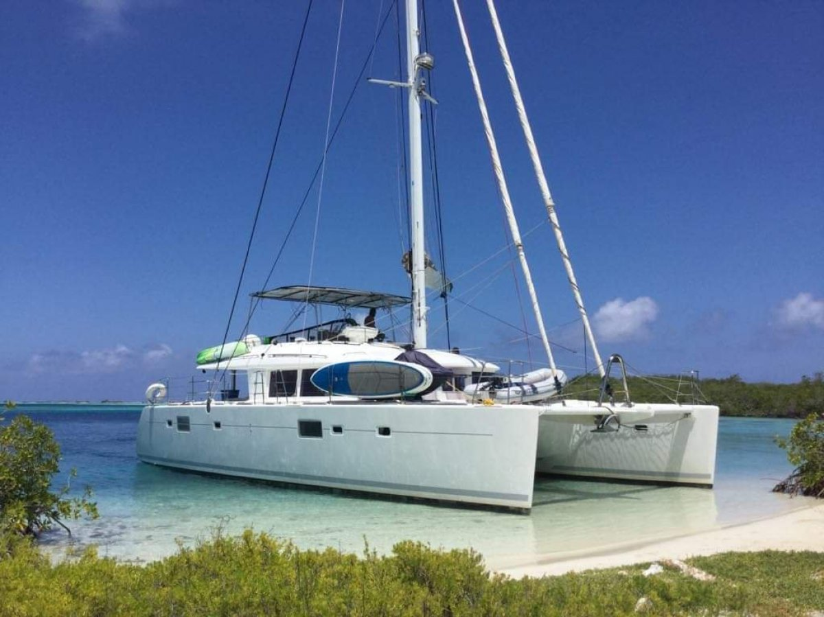 Lagoon 560 - ready to sail away!