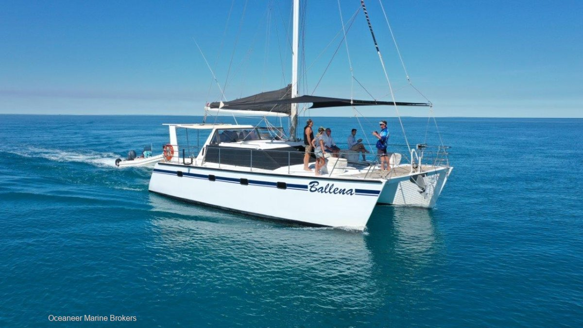 Brady 12m Catamaran in AMSA Survey