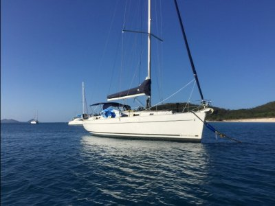 Beneteau Cyclades 43.3 Never charted 3-stateroom model