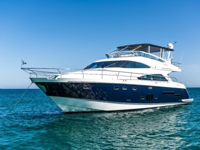 Fairline Squadron 65 2012 Built Located in Hong Kong, in mint condition