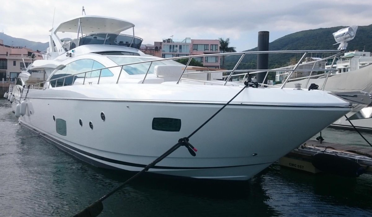 Grand Harbour 68 Motor Yacht Built in 2015 / Taiwan, Condition just like new.