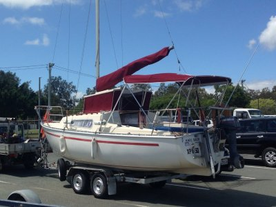 North Wind 7 Trailer Sailer