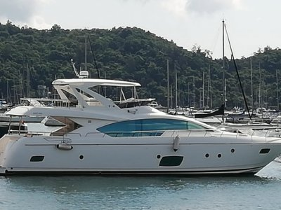 Grand Harbour 68 Motor Yacht Built in 2015 / Taiwan, new modern design