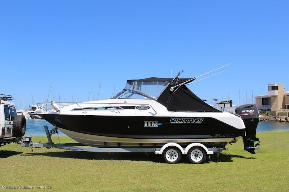 Whittley SL 26 Outboard model