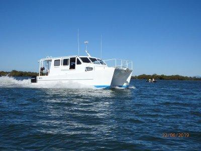 Powered Catamaran Multi purpose