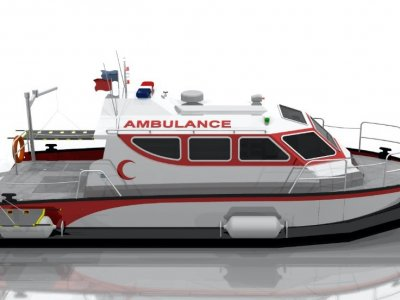 10.5m Ambulance Boat