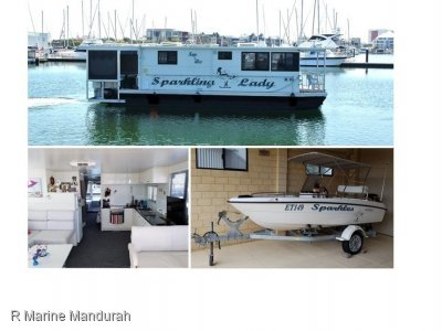 **Outstanding Custom Houseboat ***WOW $ 149,900