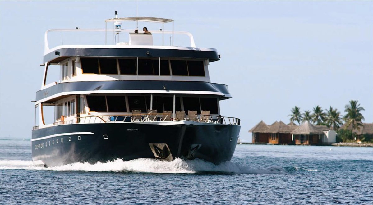 Luxury Dive Charter Vessel and Business