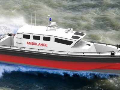 Kingtough 13m SAR / Fast Rescue and Ambulance Boat