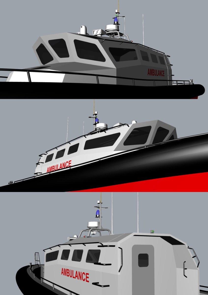 Kingtough 13m SAR / Fast Rescue and Ambulance Boat