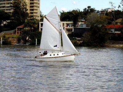 'Oriel' Gaff rigged pocket cruiser