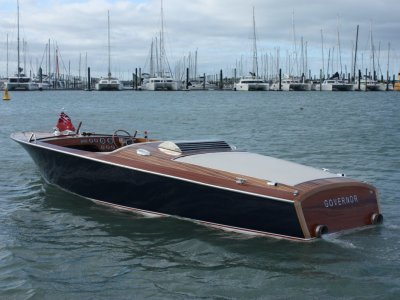 Brin Wilson Govonor - our take on a classic Riva /Christcraft