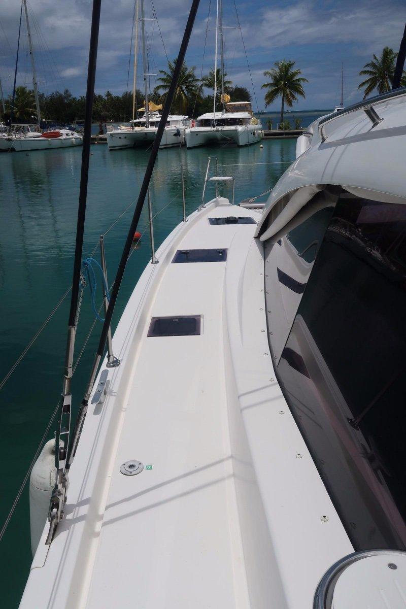 Leopard Catamarans 48 four cabin version