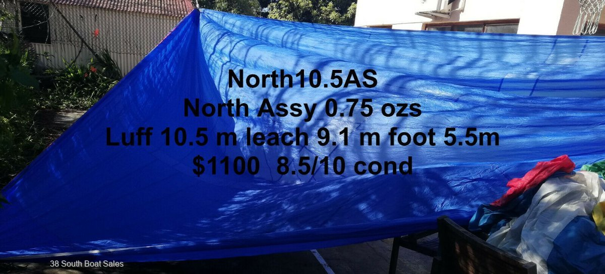 Spinnakers & Spinnaker Poles For Sale