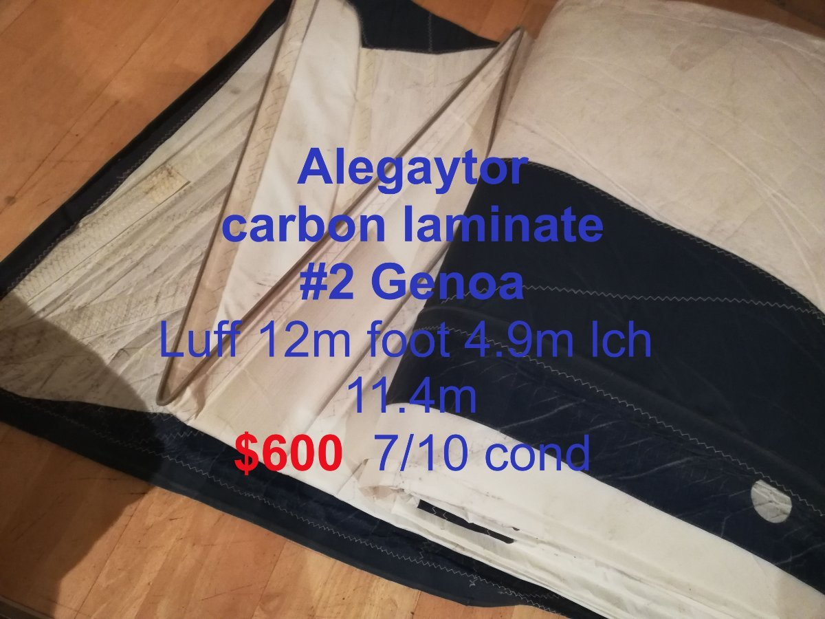 Genoa -Jibs- Boat Bits