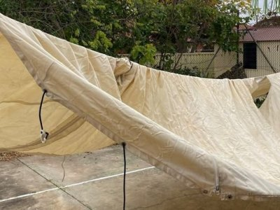 Yacht Cover/Boom Tent