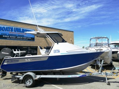 Surtees 575 Workmate Hardtop 2013 BUILT LOW HOURS FISHING BOAT FORSALE