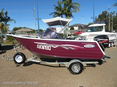 Quicksilver 4750 BR by Horizon Boats