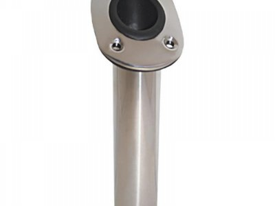 STAINLESS FLUSH MOUNT ROD HOLDERS = SPECIAL PRICE $ 24.00 EACH