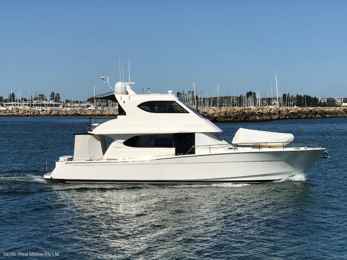 "Maritimo 52 Cruising Motor Yacht "" Boatman Maintained "":MARITIMO M52 by YACHTS WEST MARINE Ph 9335 7788"