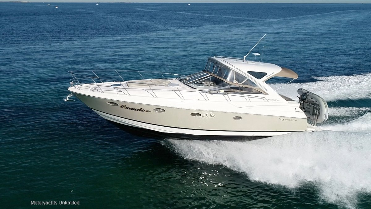 Regal 4060 *** Two big cabins and two ensuites ***