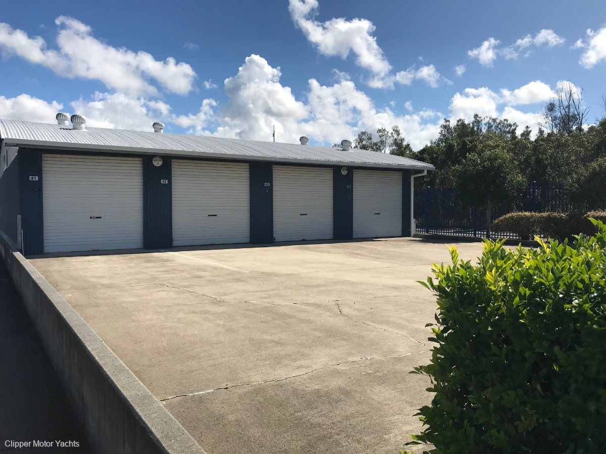 16 metre Freehold Marina Berth and Storeage shed, Gold Coast:Storage Sheds