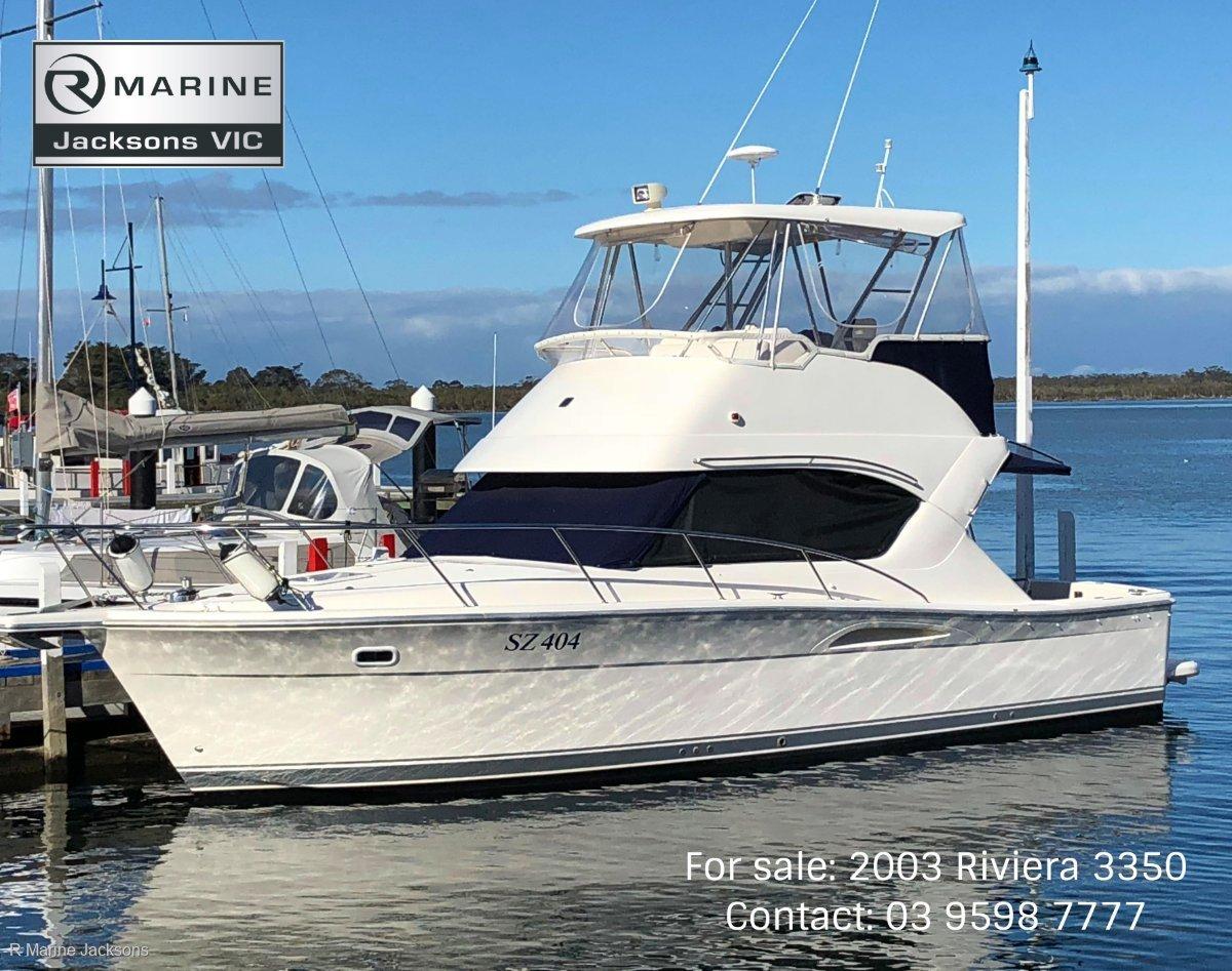 Riviera 3350 Flybridge:Riviera 3350 for sale-R Marine Jacksons