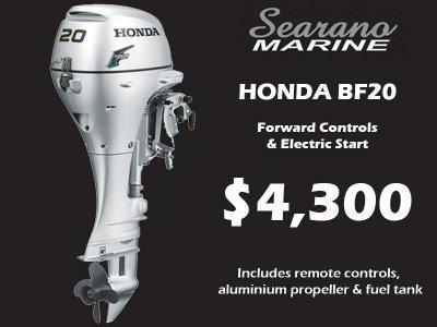 Honda Bf20 - Forward