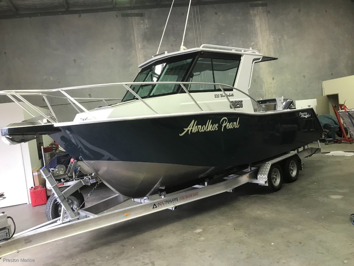 New Preston Craft 820 Thunderbolt