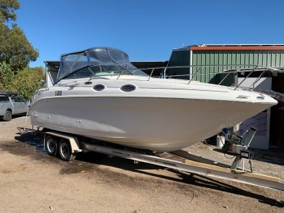 Sea Ray 260 Sundancer Low hours, genset and trailer!- Click for more info...