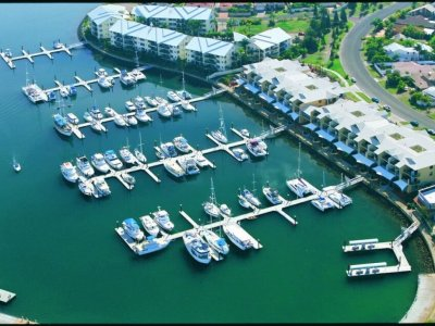MARINA BERTH FOR SALE - 15M MONO - RABY BAY MARINA