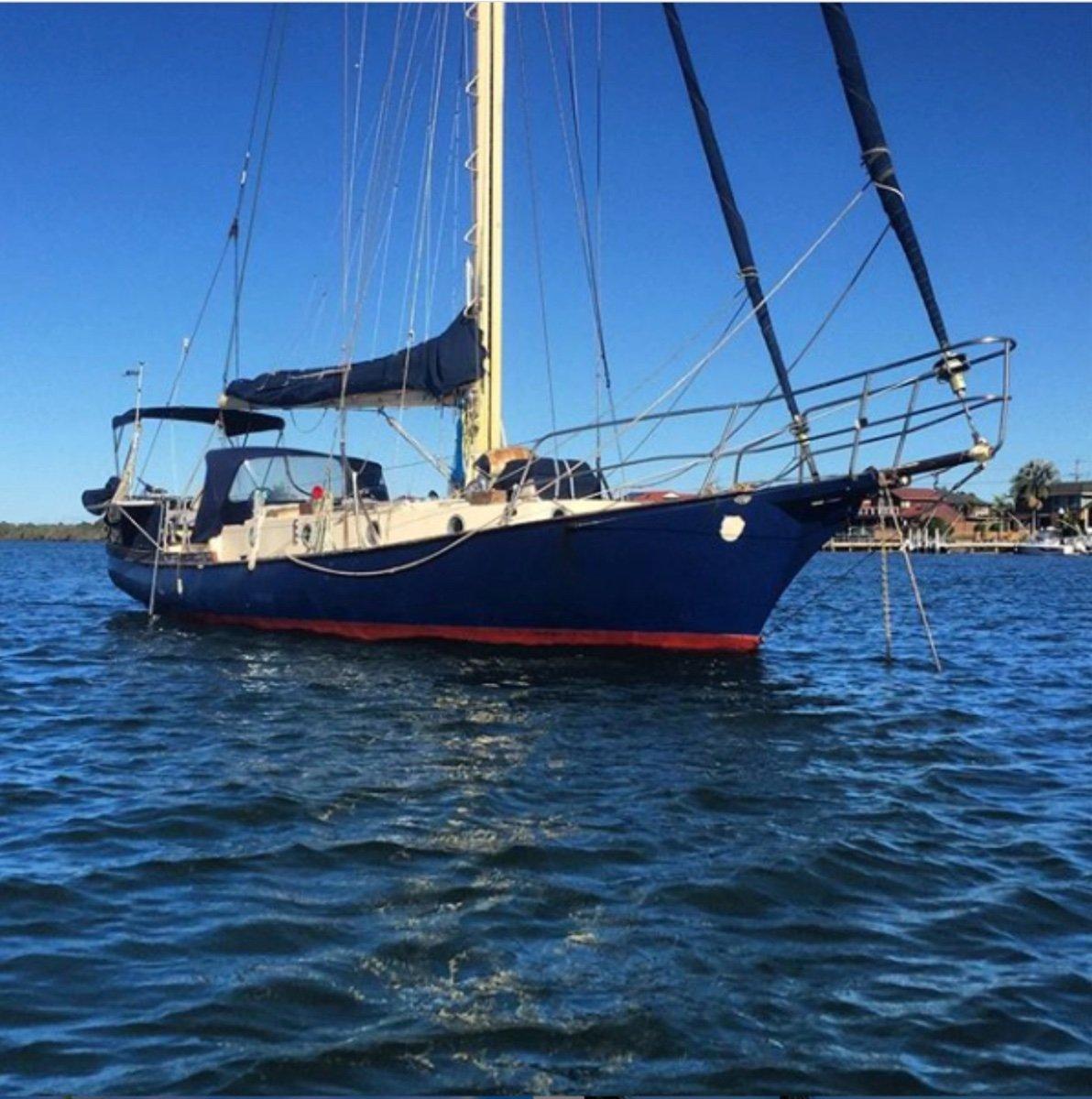 Herreshoff Nereia 38ft set up ready to go cruising or liveaboard