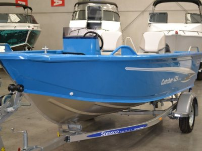 Stessco Catcher 429 LTD Powered with 40HP Yamaha 4ST Side Console