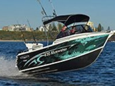 Stessl 530 Bluewater PLATE ALLOY Powered Yamaha 90 HP 4 Stroke $47.350