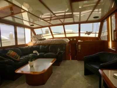 Quilkey Flybridge Cruiser WITH NEW COMMERCIAL 1E SURVEY