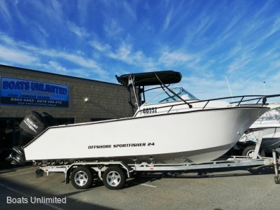 """VMax 24 Offshore Sportfisher 2017 """"600HP"""" Offshore Weapon.. Deck Space Galore"""