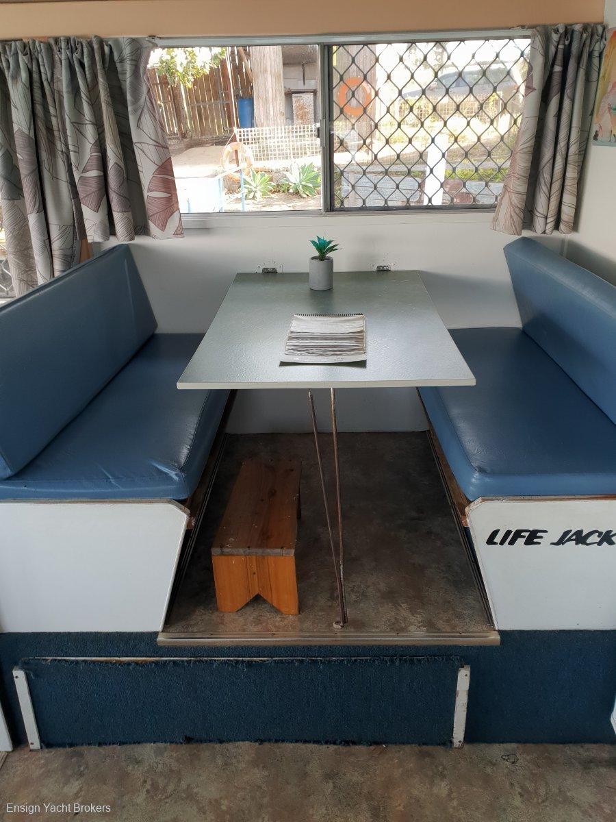Custom Houseboat 37