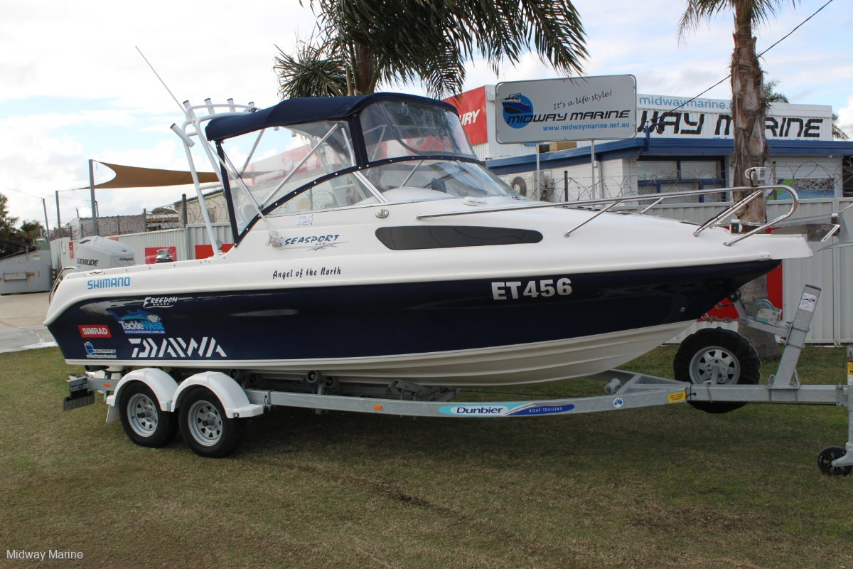 Freedom Seasport 640 (The work is all done for you! Nothing to spend!)