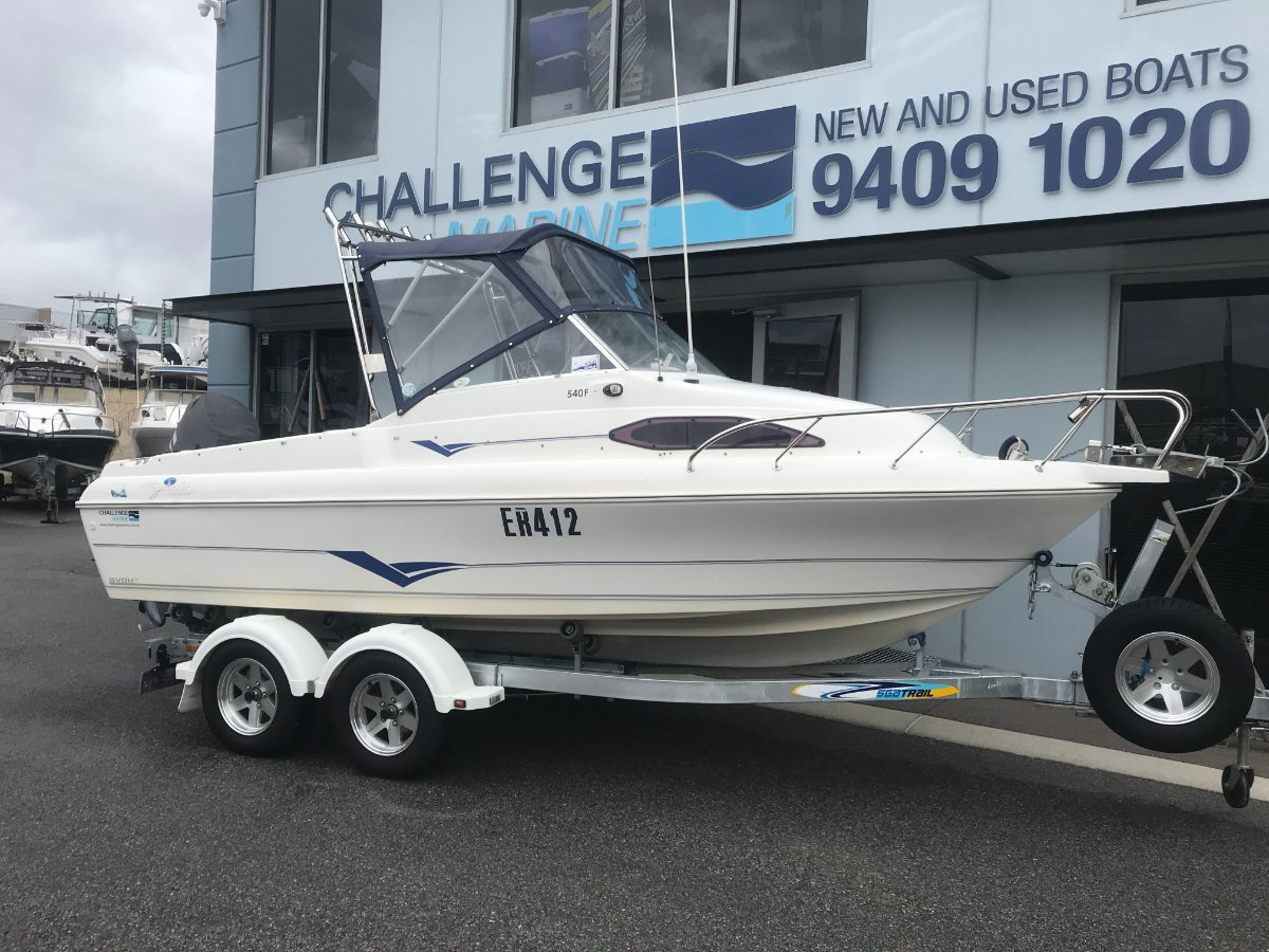 Haines Signature 540F with New 2019 Sealink Tandem Trailer